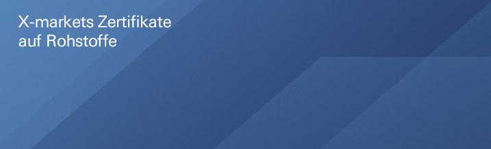 Rohstoff-Zertifikate | Deutsche Bank - X-markets - Hebelprodukte ...